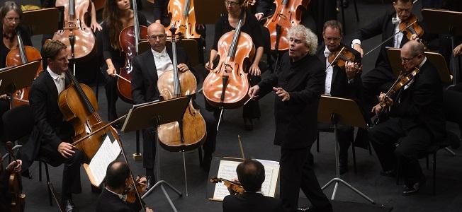 opinion  Simon Rattle y la London Symphony Orchestra, velada de alto nivel en el FIS