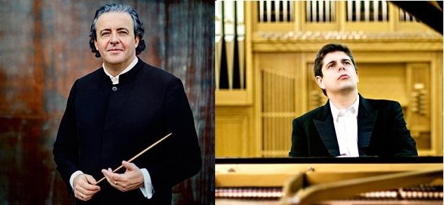festivales  Javier Perianes y Juanjo Mena con la London Philharmonic Orchestra en el FIS