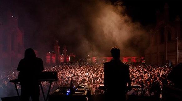 musica electronica musica  Matadero Madrid se despide del verano con música al aire libre en La Plaza Rentrée