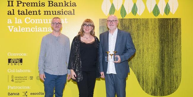 premios  La editorial Piles recibe el Premio Bankia al Talento Musical en la modalidad de actividad empresarial