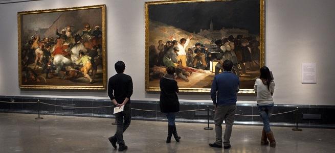 actualidad de centros  Alumnos de la ESMRS ofrecen una visita musical alrededor de los cuadros del Museo Nacional del Prado