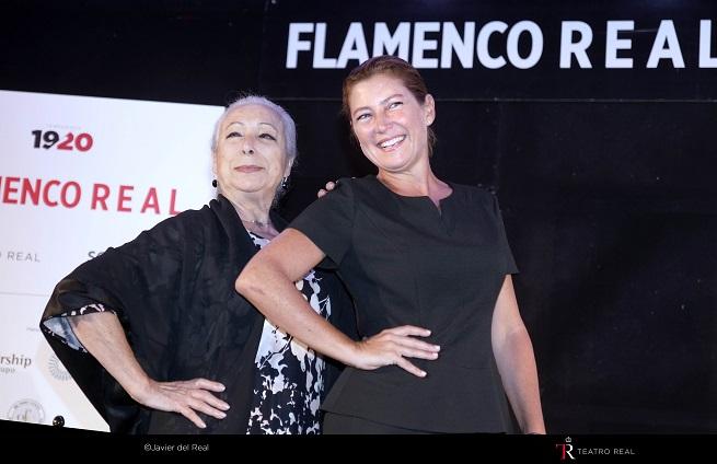 espanola  Flamenco Real con Cristina Hoyos y Sara Baras de protagonistas