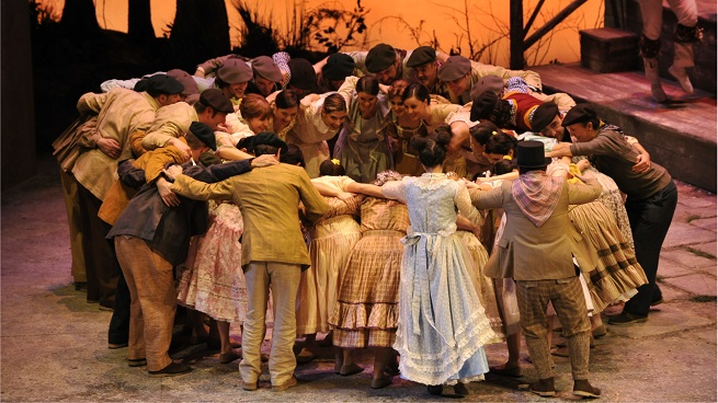 lirica  El Caserío regresa al Teatro de la Zarzuela