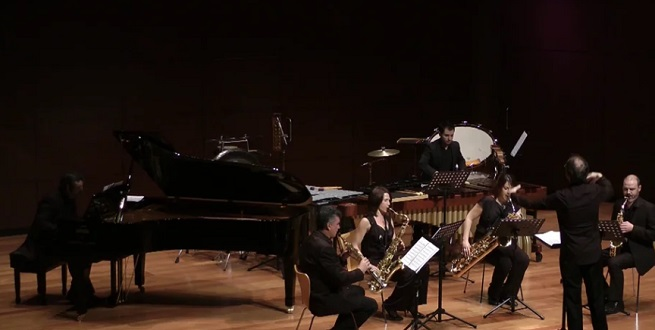 convocatorias concursos  Tribuna Sax Ensemble para jóvenes intérpretes