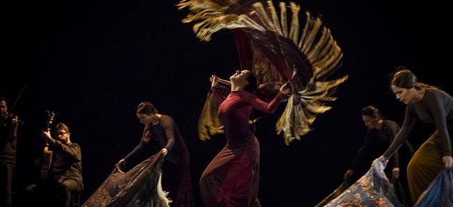 espanola  Maria Pagés regresa a los Teatros del Canal con Una oda al tiempo