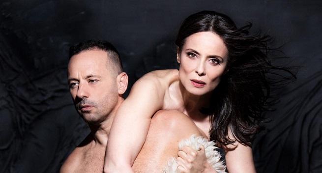 contemporanea danza  Aitana Sánchez Gijón, danza alrededor de Juana, de Chevi Muraday, en el Teatro Español