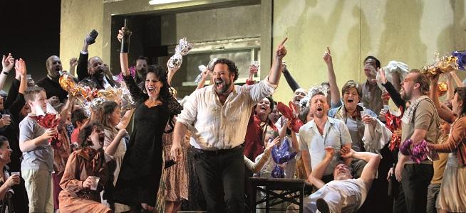 lirica  Cavalleria rusticana y Pagliacci, programa doble en el Liceu