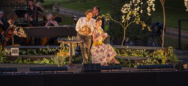 lirica  William Christie debuta en el Palau de Les Arts con La finta giardiniera, de Mozart, en versión semiescenificada