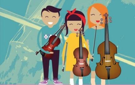 cursos  Curso de Cuerda para niños de la Escola de Altos Estudos Musicais