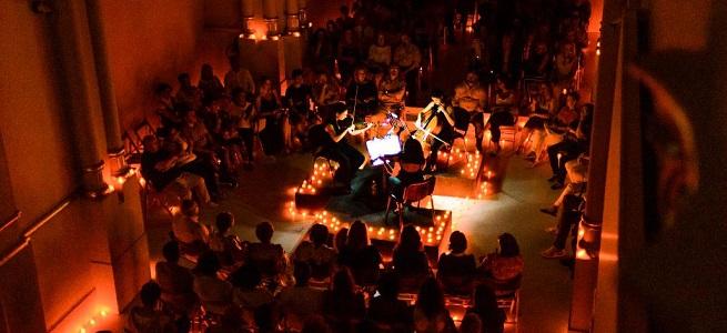 clasica  Música clásica a la luz de las velas