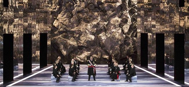 lirica  Il pirata, de Vincenzo Bellini, se presenta por primera vez en el Teatro Real