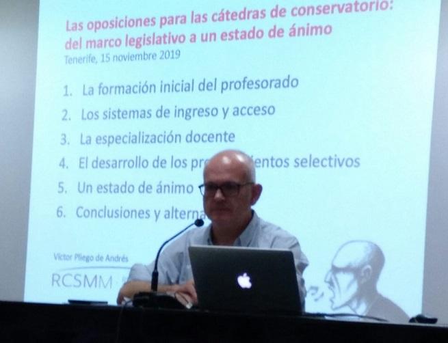 teoria y practica  Las oposiciones para las cátedras de Conservatorio: Del marco legislativo a un estado de ánimo