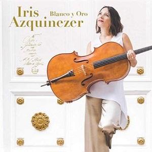 cdsdvds  Iris Azquinezer. Blanco y oro. De Bach, a la mística