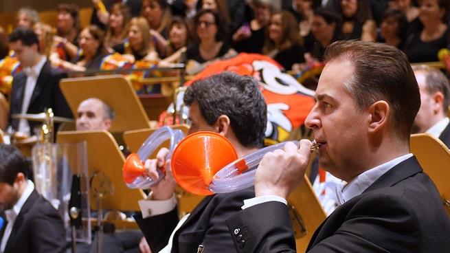 para ninos  La música y los juguetes protagonizan el nuevo concierto de la Orquesta Metropolitana de Madrid y el Coro Talía