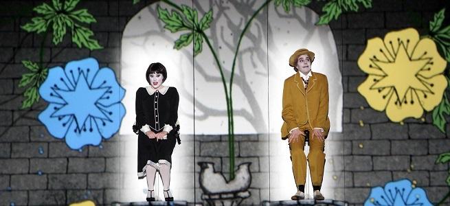 lirica  El Teatro Real pone en escena una producción de La flauta mágica de cine