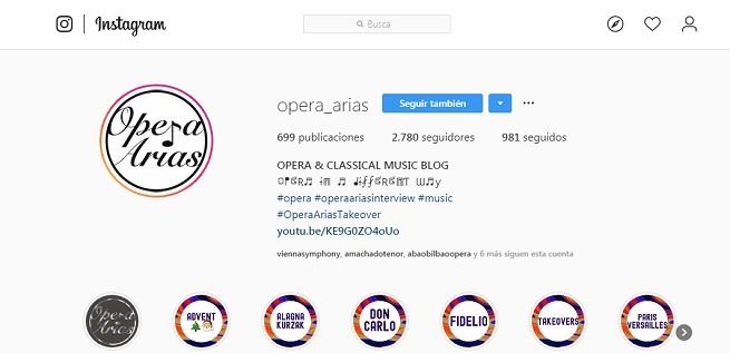 entrevistas  Opera Arias, la cuenta de Instagram que protagonizan los divos