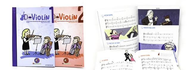 partituras  Un complemento perfecto a las clases de violín