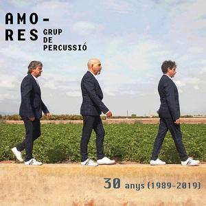 cdsdvds  Amores Grup de Percussió: 30 anys (1989 2019). Obras son AMORES