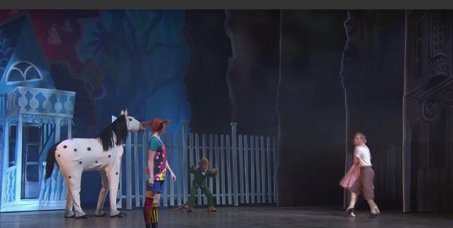 para ninos  Pippi Calzaslargas en la ópera de Helsinki en Arte TV en abierto