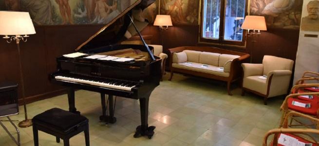 """convocatorias concursos  El María Canals promueve la práctica amateur del piano con el concurso """"¿Tú tocas en casa?"""""""