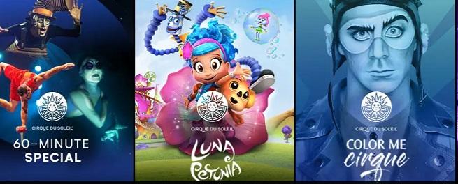 temporadas  Cirque du Soleil crea un nuevo espacio web de contenido digital