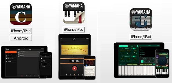 informatica y electronica  Aplicaciones gratuitas de Yamaha para seguir haciendo música