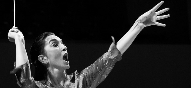 clasica  Batuta en directo, el nuevo ciclo de videoconferencias divulgativas de la directora de orquesta Silvia Sanz Torre