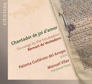 cdsdvds  Hora de poéticos cantares, del Chantador de joi d'amor