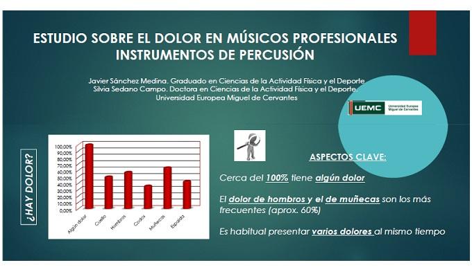 instrumentos  Estudio sobre el dolor en músicos profesionales