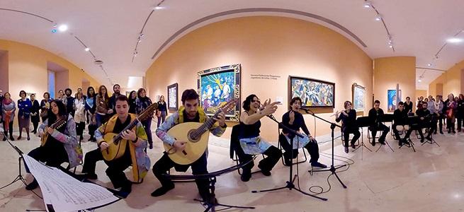 notas  Ruta musical virtual por el Thyssen con Cuadros sónicos