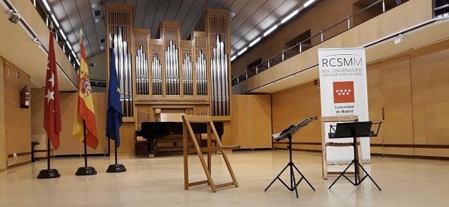 actualidad de centros  Las pruebas de acceso al Real Conservatorio Superior de Música de Madrid tendrán lugar en septiembre