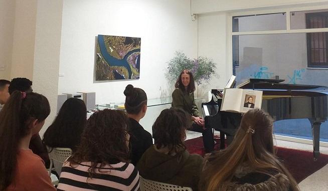 clasica  Concierto de Clarinete y piano en la Galería Toro dentro del ciclo Schubertiada 1ª Edición. La Música compartida