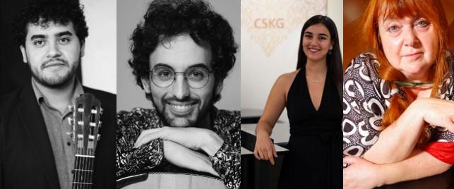 festivales  La Guitarra Española y Piano infinito, protagonistas del XIII Festival Internacional de Música Clásica Noches del Real Sitio de la Fundación Katarina Gurska