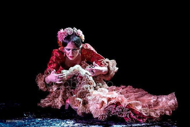 espanola  La Bailaora Macarena Ramírez baila en Segovia, un Oasis de Cultura