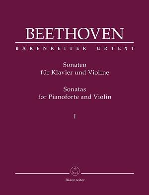 partituras  Las sonatas para violín y piano, de Beethoven en una nueva edición Urtext
