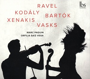 cdsdvds  Orfilia Saiz Vega y Marc Paquin: Un dúo perfecto