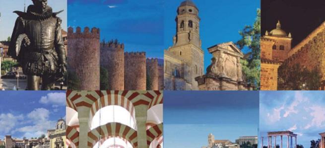notas  Las ciudades Patrimonio de la Humanidad celebran su noche el 12 de septiembre