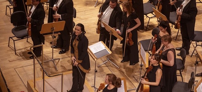 clasica  La Orquesta Metropolitana de Madrid, con Silvia Sanz, vuelve al Auditorio Nacional con el concierto Embrujo Español