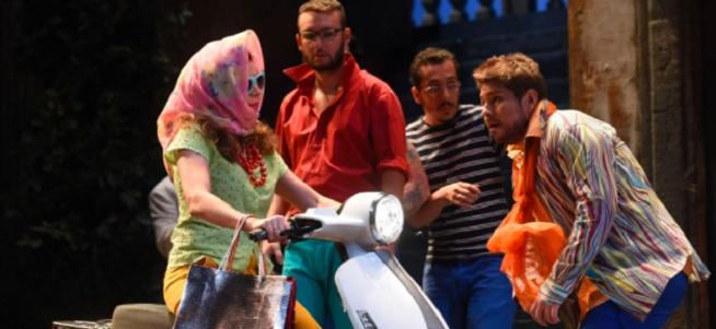 lirica  Il turco in Italia abre la temporada de ópera de ABAO Bilbao Opera