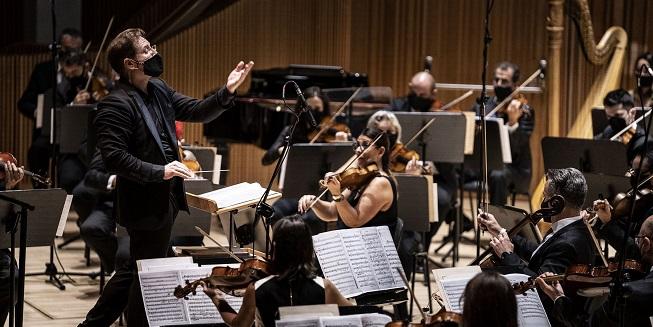 temporadas  La Orquesta de Valencia, con la Sinfonía nº4, de Mahler, inaugura la temporada del Palau de la Música
