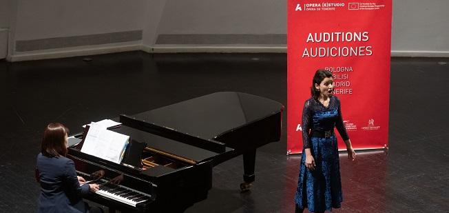 pruebas de acceso  Audiciones del proyecto Opera (e)Studio, de Ópera de Tenerife