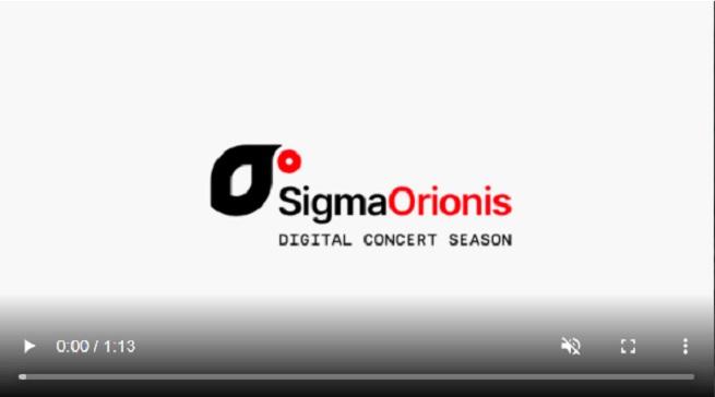 temporadas  El cuarteto de saxofones SIGMA Project presenta su primera temporada digital de conciertos SIGMA ORIONIS