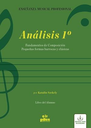 libros  Análisis 1º: Libros del alumno y del profesor, de Katalin Szekely