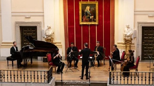 contemporanea  Concierto Música para el tercer milenio con obras encargo de la UNIR