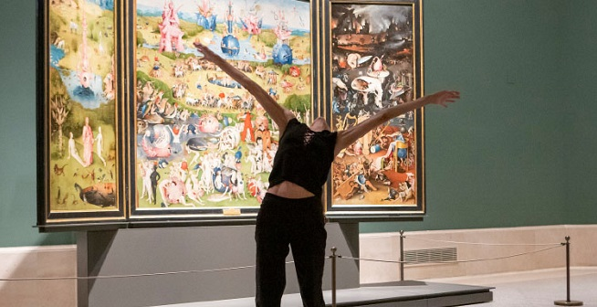 contemporanea danza  Danza alrededor del Museo del Prado
