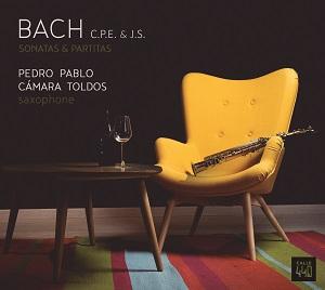 novedades  Pedro Pablo Cámara pone el saxofón al servicio de los Bach
