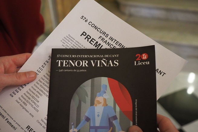 concursos  125 cantantes de 32 países pasan a la fase final del Concurso de Canto Tenor Viñas