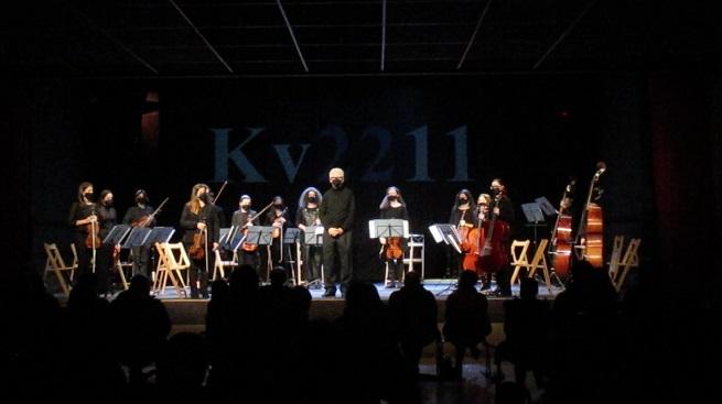 clasica  Concierto de Año Nuevo de la Orquestra Infantil e Xuvenil de Vigo, Kv2211, en el Auditorio del Concello de Vigo