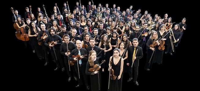 temporadas  La Joven Orquesta Nacional de España estrena dos obras de Raquel García Tomás y David Moliner, en una gira de conciertos por Zaragoza, Madrid y Ávila