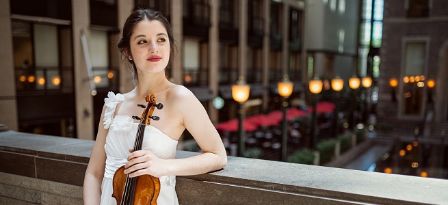 clasica  La violinista Maria Dueñas debuta con la OCNE